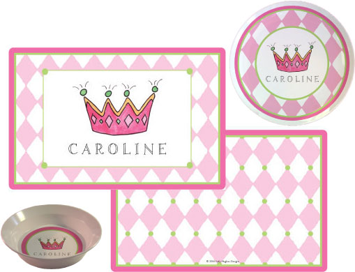Plates and Placemats for Children from Kelly Hughes Designs
