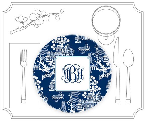 Plates, Platters and Placemats from Boatman Geller