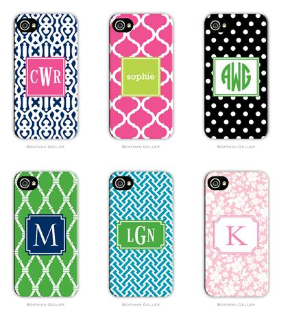 Boatman Geller Monogrammed Cell Phone and Tech/Tablet Cases on Sale