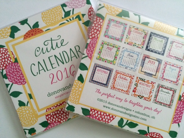 2017 Cutie Desk Calendars from Donovan Designs