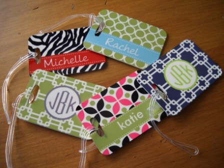 Personalized Luggage Tags - Unique Gifts, Personalized Gifts