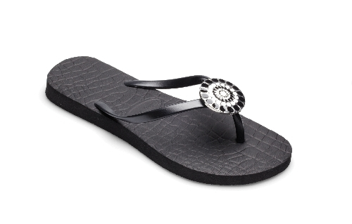 Jordi Black Flip Flops from Lindsay Phillips-Switch Flops