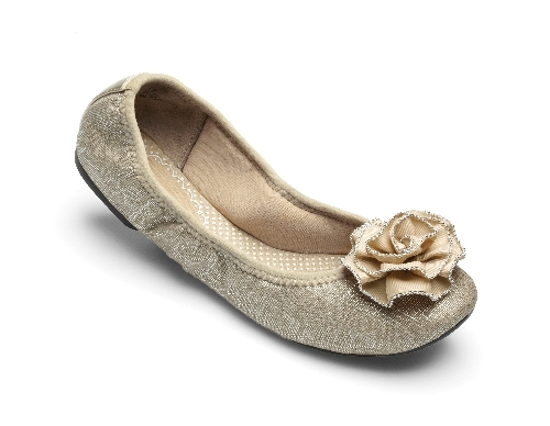 Neutral Liz Ballet Flats from Lindsay Phillips-Switch Flops