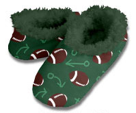 Snoozies Football Foot Coverings for Men