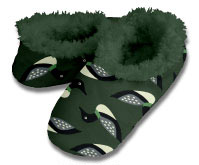 Snoozies Ducks Foot Coverings for Men