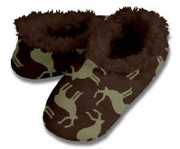 Snoozies Deer Foot Coverings for Men