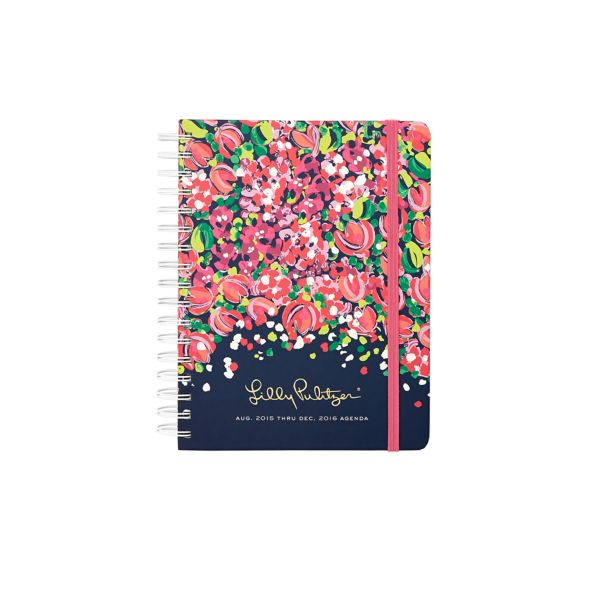 2015/2016 Jumbo 17 Month Agenda from Lilly Pulitzer Wild Confetti