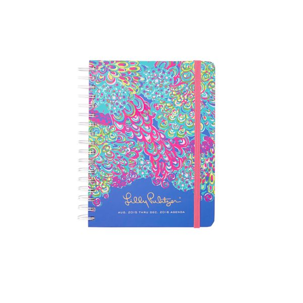 2015/2016 Large 17 Month Agenda from Lilly Pulitzer Lilly's Lagoon