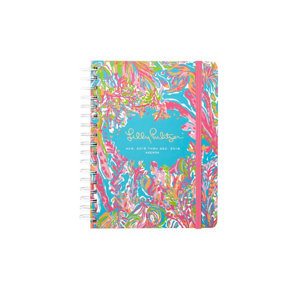 2015/2016 Small 17 Month Agenda from Lilly Pulitzer Scuba to Cuba