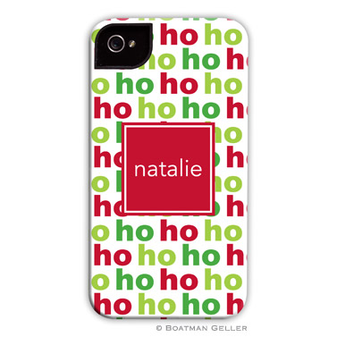Ho Ho Ho Personalized Boatman Geller Hard Cell Phone Case