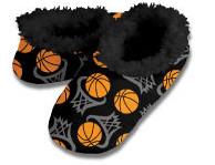 Snoozies Basketball Foot Coverings for Men