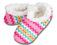 Fair Isle Snoozies Foot Coverings-New!
