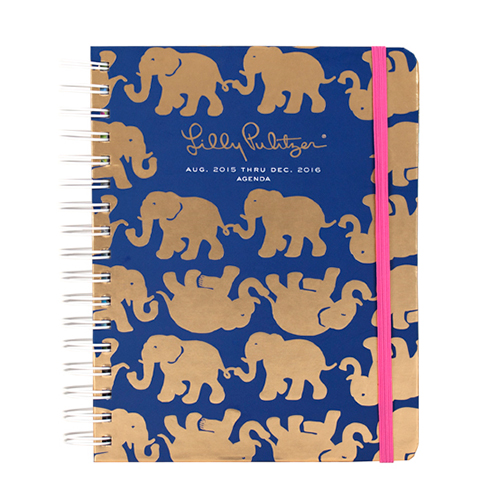 2015/2016 Large 17 Month Agenda from Lilly Pulitzer Tusk in Sun
