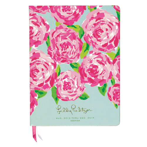 2013/2014 Luxe 17 Month Agenda from Lilly Pulitzer First Impression
