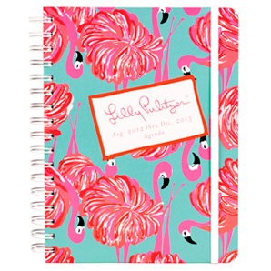 17-Month 2012-2013 Large Agenda from Lilly Pulitzer-Give Me Some Leg