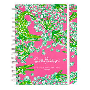 17-Month 2012-2013 Large Agenda from Lilly Pulitzer-See You Later