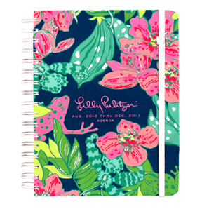 17-Month 2012-2013 Large Agenda from Lilly Pulitzer-Skip on It