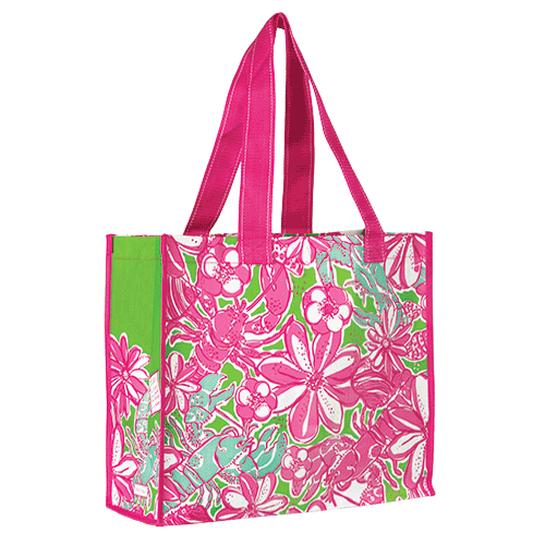 Market Bags from Lilly Pulitzer Coronado Crab