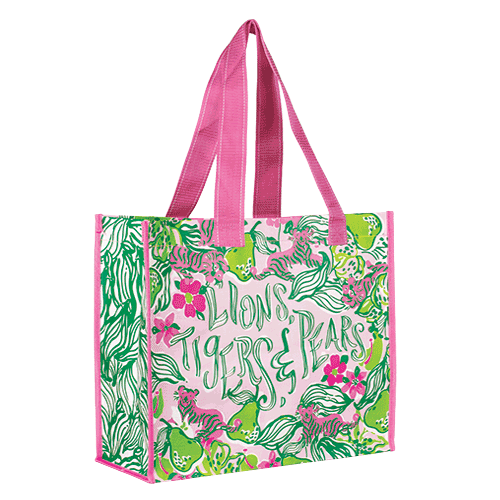 Market Bags from Lilly Pulitzer Tiger Lilly