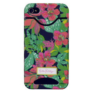4G/4S Skip On It ID iPhone Covers from Lilly Pulitzer