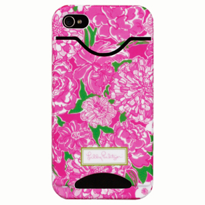 4G/4S May Flowers ID iPhone Covers from Lilly Pulitzer