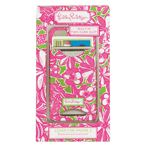 Coronado Crab ID iPhone 5 Covers from Lilly Pulitzer