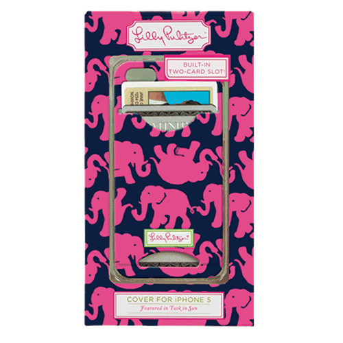 Tusk in the Sun ID iPhone 5 Covers from Lilly Pulitzer