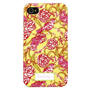 4G/4S Chi Omega iPhone Covers from Lilly Pulitzer