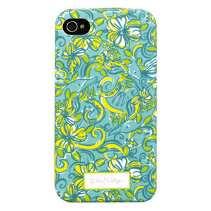 4G/4S Delta Delta Delta iPhone Covers from Lilly Pulitzer