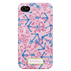 4G/4S Delta Gamma iPhone Covers from Lilly Pulitzer