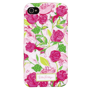 4G/4S Delta Zeta iPhone Covers from Lilly Pulitzer