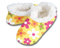 Pop Floral Snoozies Foot Coverings