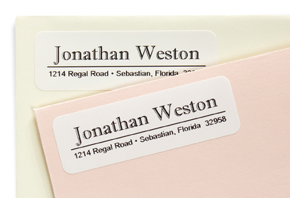 Roman Address Labels from The Chatsworth Collection