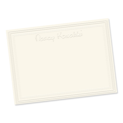 Constance Card from Embossed Graphics