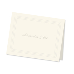 Plateau Note from Embossed Graphics