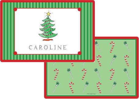Christmas Placemat from Kelly Hughes Designs