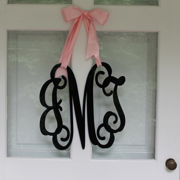 3 Letter Acrylic Monogram