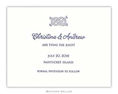 Letterpress Icon Small Flat Invitation from Boatman Geller