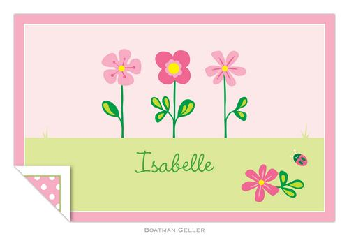 Personalized Garden Placemat from Boatman Geller