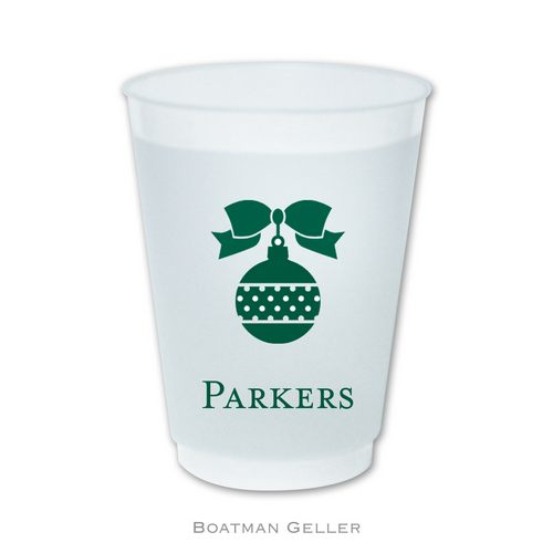 Holiday Frost Flex Cups with Icons from Boatman Geller
