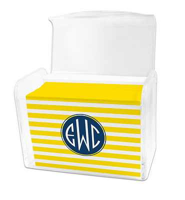 Dabney Lee Cabana Note Cards in Lucite Stationery Box