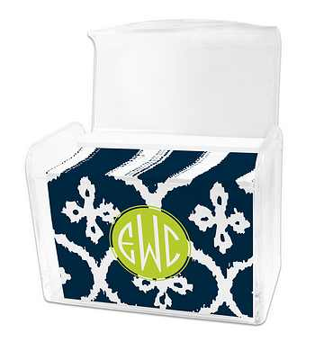 Dabney Lee Montauk Note Cards in Lucite Stationery Box