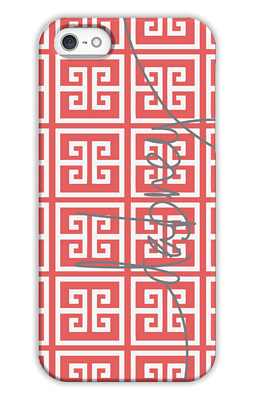 Greek Key Monogrammed Tech and Phone Cases from Dabney Lee