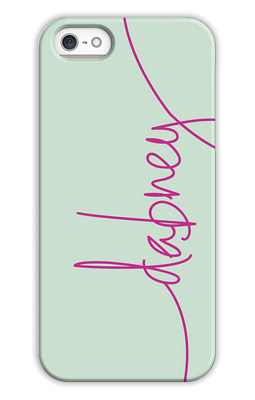 Mint Monogrammed Tech and Phone Cases from Dabney Lee