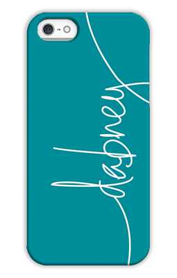 Peacock Monogrammed Tech and Phone Cases from Dabney Lee