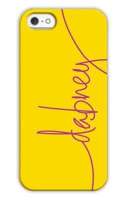 Sunshine Monogrammed Tech and Phone Cases from Dabney Lee