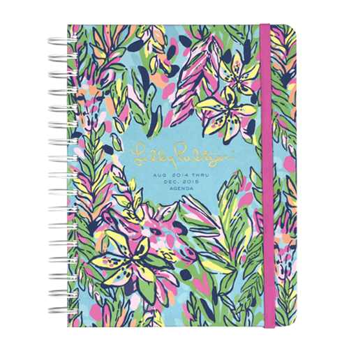 2014/2015 Large 17 Month Agenda from Lilly Pulitzer Hot Spot
