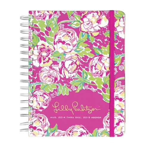 2014/2015 Large 17 Month Agenda from Lilly Pulitzer Lilly Lovers
