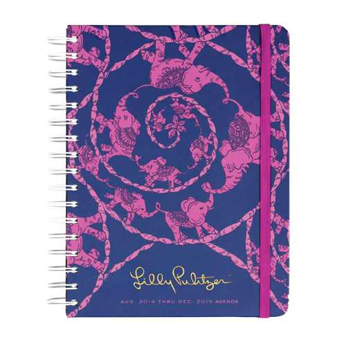 2014/2015 Large 17 Month Agenda from Lilly Pulitzer Loopy Lilly