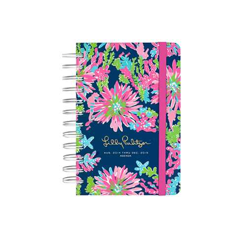 2014/2015 Small 17 Month Agenda from Lilly Pulitzer Trippin' and Sippin'